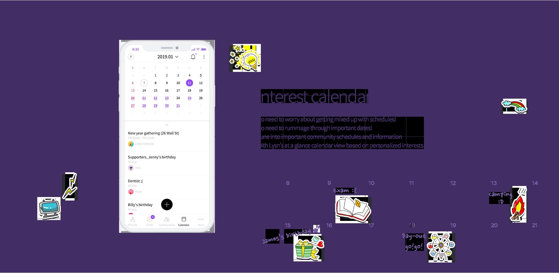 Calendar feature image