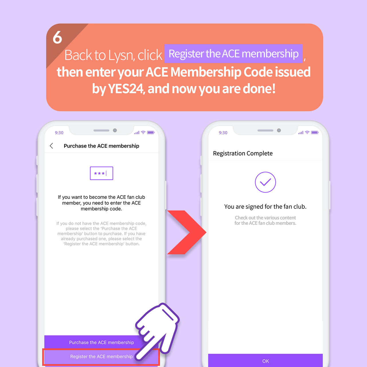 How to join the Fan club official community and sign up for